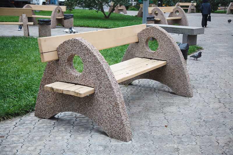 Скамейка Стандарт Скульптура72